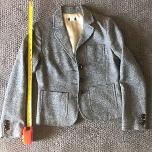 J Crew grey blazer